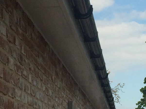 Silicone Joint to Soffit